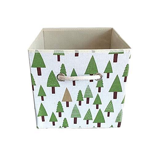 YWRD Cajas de almacenaje Decorativas Carton Cajas organizadoras Juguetes Tela de Cajas...