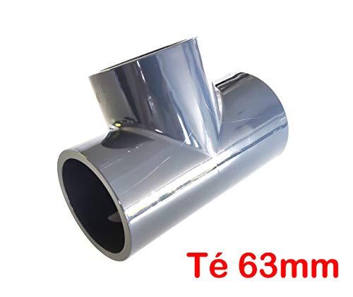 Té 90° PVC Presión – U/63 mm interior F/F/F PN16 /