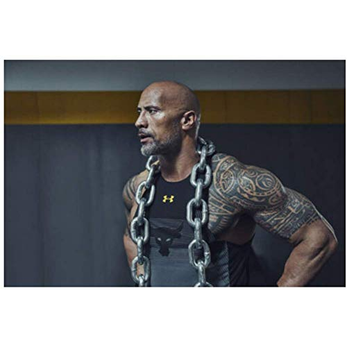 NRRTBWDHL Die Rock Dwayne Johnson Fitness Bodybuilding''Art Poster Leinwand Malerei Home Decor Poster und Drucke Druck auf Leinwand-50x70cm No Frame