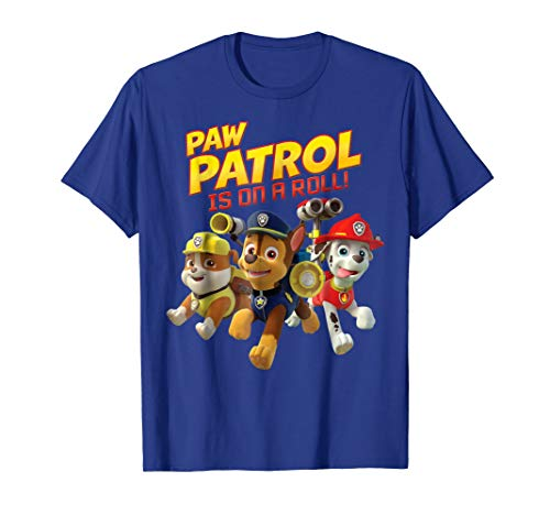 PAW Patrol Is On A Roll Pup Group Leap T-Shirt