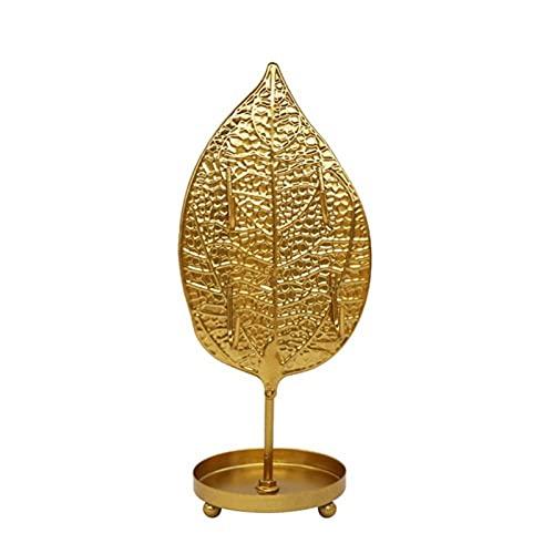 Soporte de joyería Lujo Golden Shape Forma de hierro Joyas Pantalla Pantalla Joyería Almacenamiento Pendientes Pendientes Collar Pulsera Anillo Soporte Soporte Decoración del hogar organizador de joya