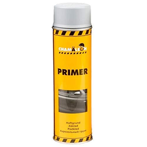Chamäleon 1K Grundierung Spray 500ml Füller Acryl Primer Filler Schichtfüller Korrosionsschutz (Grau, 1)