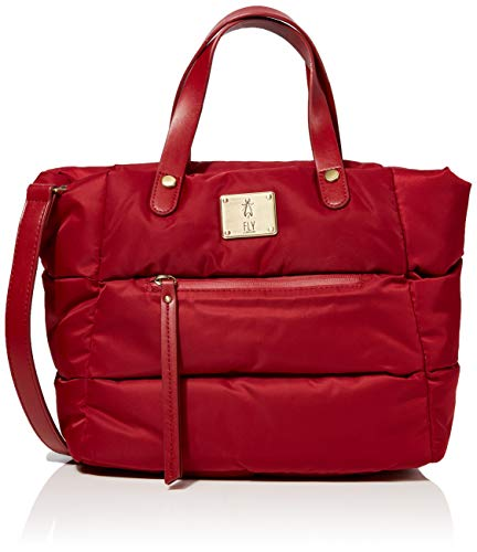 Fly London Womens Zeni668fly Top-Handle Bag Red (Red)