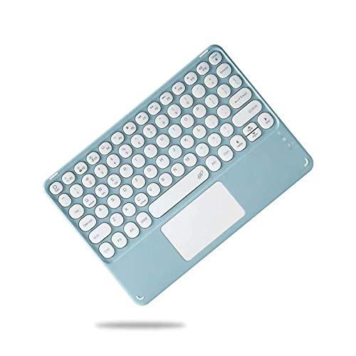 I pad Pro 11 Bluetooth keyboard case 12.9 2020 Smart keyboard case with i Pad Air keyboard 4 3 2 1 10.2 7th 8th Case-blue keyboard_for ipad air 4 10.9
