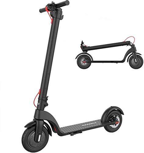 Elektro Scooter Elektroroller 25 KM Langs Treck enbatterie Roller Elektro-Tretroller bis 25 KM/H Tragbar...