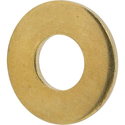 6-32 Hex Cap Nuts Solid Brass Grade 360 Commercial Plain Finish Quantity 100