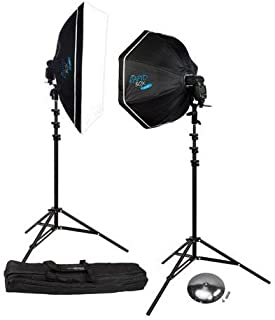 Rapid Box 2-Light Kit w/Beauty Dish Deflector Plate & Carry Case