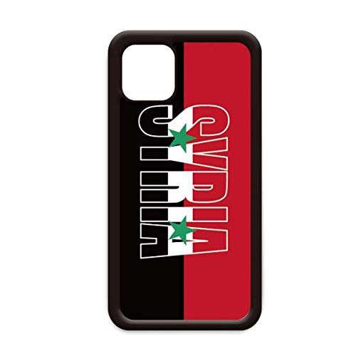 Syrië land vlag naam voor Apple iPhone 11 Pro Max Cover Apple mobiele telefoonhoesje Shell, for iPhone11 Pro Max