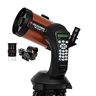 "Celestron NexStar 5 SE - Telescopio computarizado de 5"", Negro y Naranja (B000GUHOYE) 
