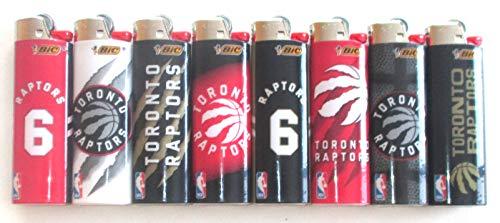 Bic NBA Toronto Raptors Aanstekers voor volledige grootte Veel van 8