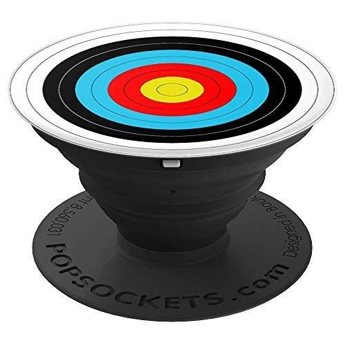 Obiettivo di tiro con l'arco Archery Target PopSockets Supporto e Impugnatura per Smartphone e Tablet