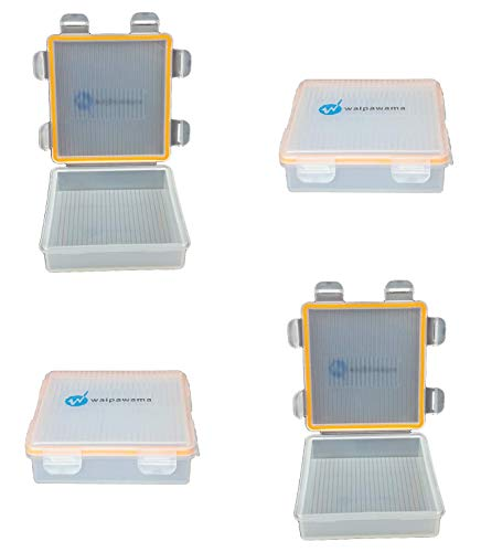 waipawama Caja de baterías para 18650 baterías, Caja de Almacenamiento a Prueba de Agua