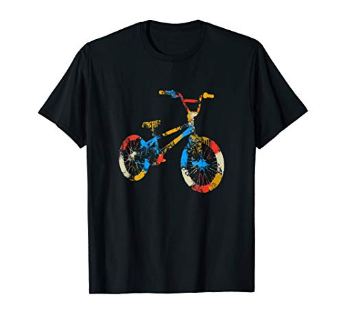 Vintage Retro Bike Gift For Cyclists And Bike Lovers T-Shirt