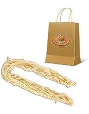 Moretti® Budello Per Insaccati Di Suino | Budella 100% Naturale | Involucro Protezione E Stagionatura Salumi | Confezione Sottovuoto | Calibro 38mm/40mm X Lunghezza 20m