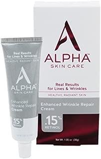 Alpha Skin Care Enhanced Wrinkle Repair Cream with 15% Retinol, 1.05 Ounce by Alpha Skin Care