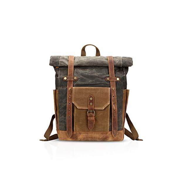 41G3RzyxhWL. SS600  - FANDARE Moda Impermeable Bolso de Escuela Viaje Mochila Hombres 15.6 Pulgadas Laptop Backpack Outdoor Camping Gran…