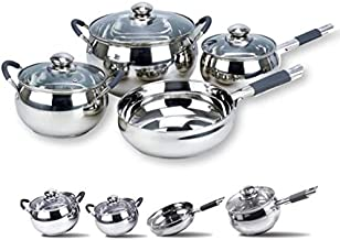 Royalford Stainless steel Cookware Set of 7 Pieces- RF5123