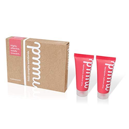 Nuud Deo Creme - Eine Vegane & Native Alternative Zum Deodorant - 100% Natürliche Deocreme - Smarter Pack (2x20ml) Naturkosmetik Ohne Aluminium, Duftstoffe, Alkohol & Andere Unnötige Chemikalien