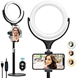 Best Light Stands - Selfie Ring Light with Stand & Phone Holder Review