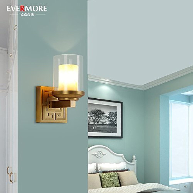 StiefelU LED Wandleuchte nach oben und unten Wandleuchten Schlafzimmer Nachttischlampe Marmor Wand lampe Wohnzimmer Lampe verkupfert Studie führte durch Hyun put off road.