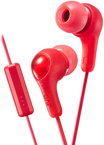 JVC Gumy Earbuds in Ear Headphones HA FX7MRN Powerful Sound Comfortable and Secure Fit Comes product image