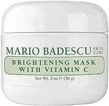 Mario Badescu Brightening Mask With Vitamin C, White, 2 Oz