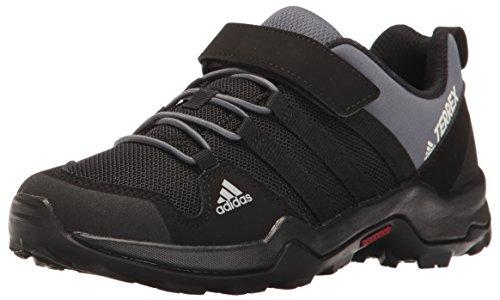 adidas Outdoor Unisex-Child Terrex AX2R CF Hiking Boot, Black/Black/Onix, 6.5 Child US Big Kid