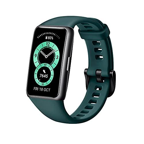 Huawei Band 6 Fitness Tracker Smartwatch for Men Women,...