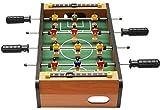 Piarner 4-Bar Fútbol Doble Interactivo for Niños futbolín Padres e Hijos interactivos Ocio Entreteni...