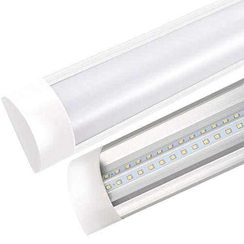 LED Batten Light T10 Tube Lampe Appliques Murales Housse de Protection pour Usines Atelier Salle De Bains Balcon Couloir Salon Chambre Cuisine Supermarchés 750LM 30CM 10W 3000K 1pc XYD®