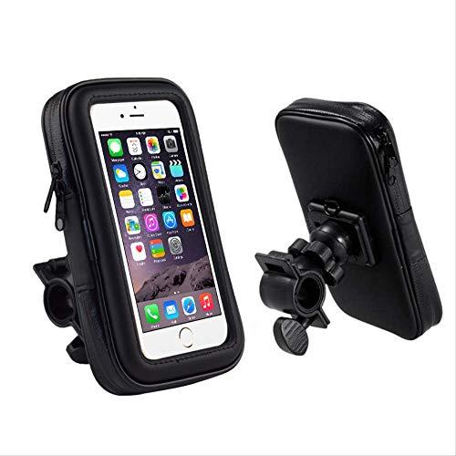 Telefoonhoesje voor fiets, scooter, elektrische motornavigatiehouder voor mobiele telefoon, waterdicht en regenbestendig.