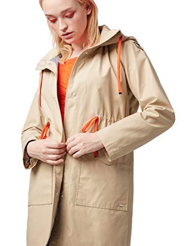 TOM TAILOR dames A-lijn parka met capuchon jas