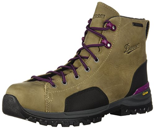 """Danner Women's Stronghold 5"""" Construction Boot, Brown NMT, 7.5 M US"""