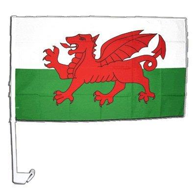 Drapeau de voiture Pays de Galles - 30 x 40 cm
