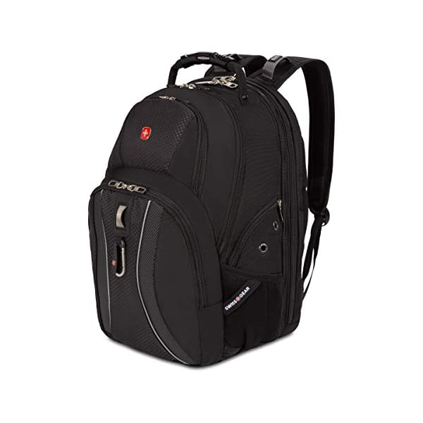 SWISSGEAR 1270 ScanSmart Laptop Backpack | Fits Most 17 Inch Laptops and Tablets...