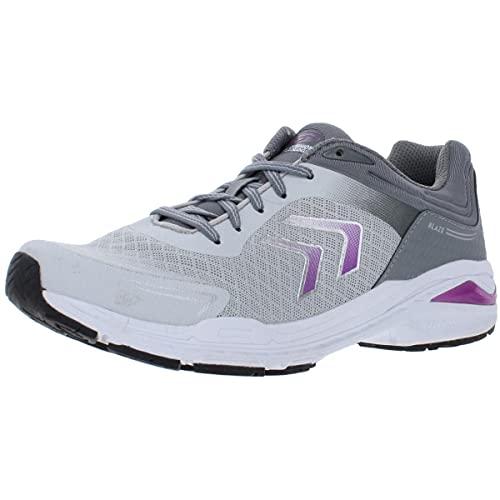 Dr. Scholl's Shoes Women's Blaze Sneaker, Grey, 9.5