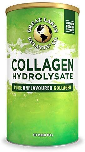 Hidrolizado de colágeno de gelatina de Great Lakes 454g (lata compatible con UK/EU)
