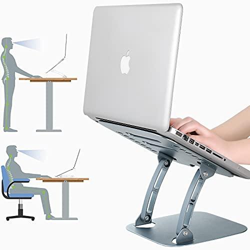 ARNTY Soporte Portatil Mesa,Laptop Stand,Soporte Ordenador Ajustable...