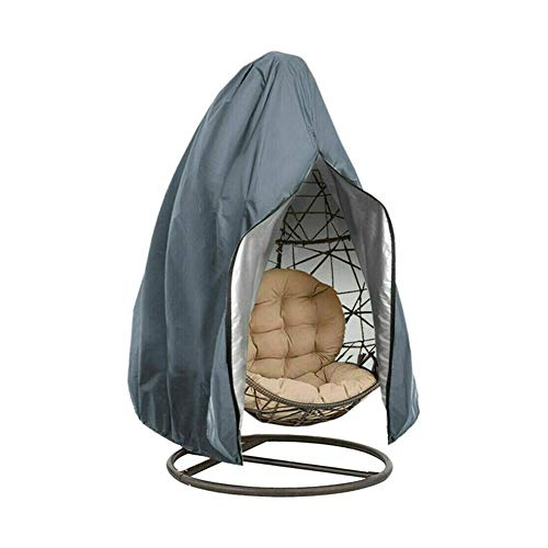 FYZS Anti UV Patio Garden Hanging Hammock Stand Furniture Protection Swing Chair Cover Outdoor Washable Dustproof Egg Wicker (Color : Style 3, Specification : 115x190cm)