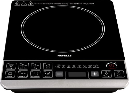 Havells Insta Cook ST 2000-Watt Induction Cooktop (Black)