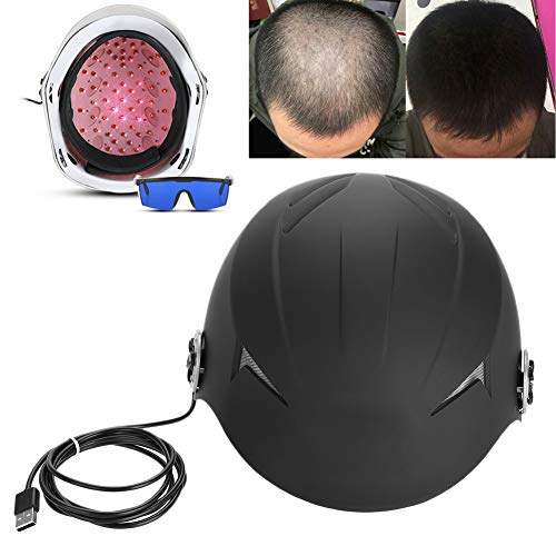 Haargroeiapparaat, hoofd, haarzakjesmassage voor mannen en vrouwen, anti-haaruitval, dioden licht voor verbeterd haar, 650 nm zacht licht, stimuleert haarzakjes voor het vergroten van de hoeveelheid haar.