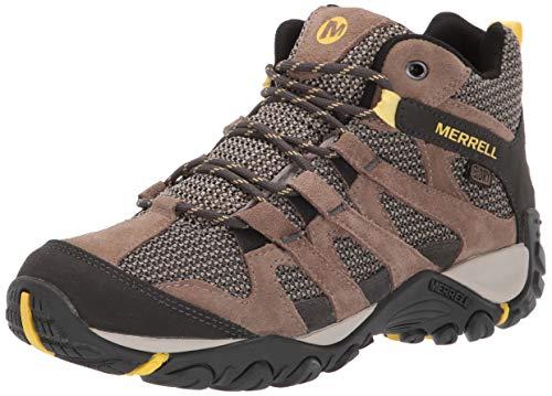 Merrell Women's ALVERSTONE MID Waterproof Hiking Shoe, Brindle, 10.5 M US