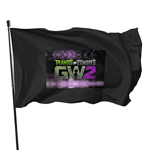 Banderas de bandera N/F Plants Vs Zombies Garden Warfare 2 1