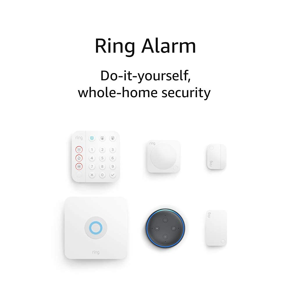 Ring Alarm 5-Piece Kit (2nd Gen) + Echo Dot $160 Coupon