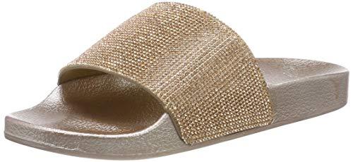 Beck Damen Slides Aqua Schuhe, Gold (Gold 14), 39 EU