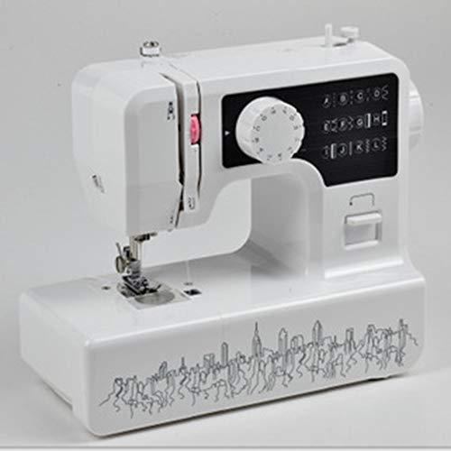 Naaimachine Mini Elektrische Draagbare Naaimachine 12 Steken 2 Snelheid Multi-Functie Overlock Huishoudelijke Naaigereedschap Met Voet Pedaal Power Kabel Eenvoudige Installatie 3 kleuren