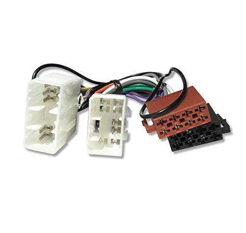 Autoradio Adapterkabel Radioadapter für MAZDA 121, 323, 626, MX3, MX5, MX6, RX7, Demio, MPV, Premacy, Xedos 6, Xedos 9
