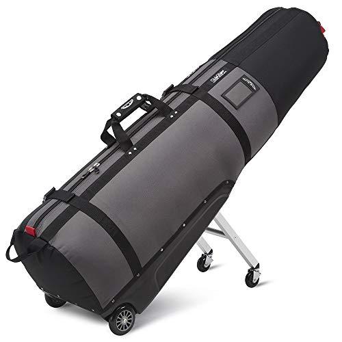 Sun Mountain ClubGlider Journey Golf-Reisetasche, mit Rollen, schwarz / gunmetal