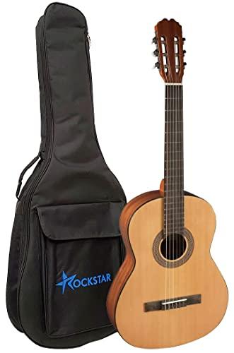 Guitarra clásica española Admira Alba 4/4 con funda acolchada de 8mm calidad y precio - Rockmusic España