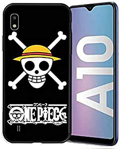 Cokitec Coque pour Samsung Galaxy A10 Manga One Piece Tete de Mort